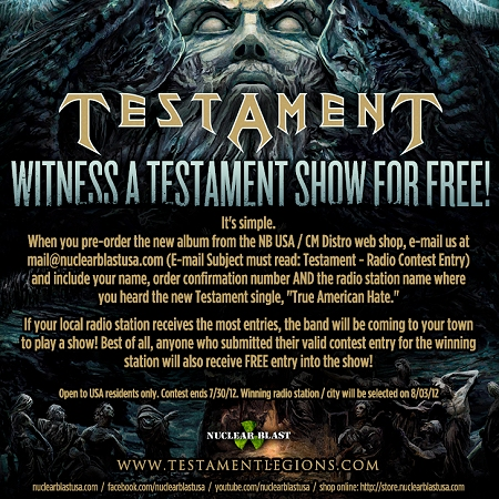 Testament Contest